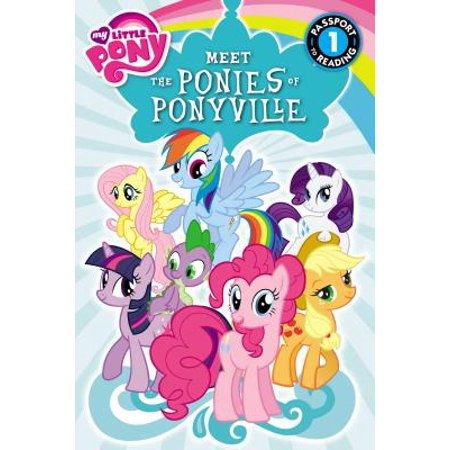 My Little Pony: Meet the Ponies of Ponyville (My Little Pony Halloween Coloring Pages)