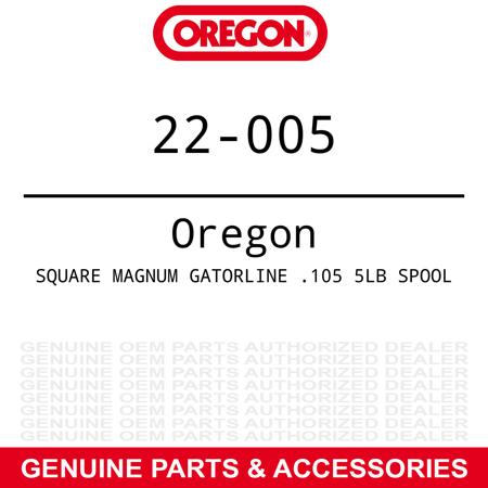 Oregon Magnum Gatorline 5 Lb 896' Spool 0.105