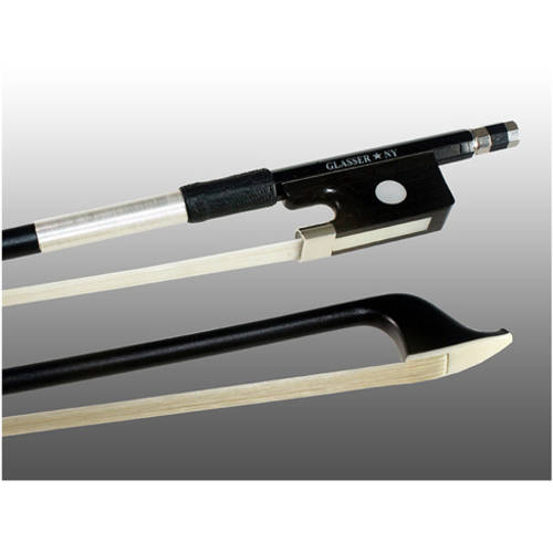 Glasser X-Series Carbon Graphite Cello Bow 4000X, 3 4 Size by Glasser