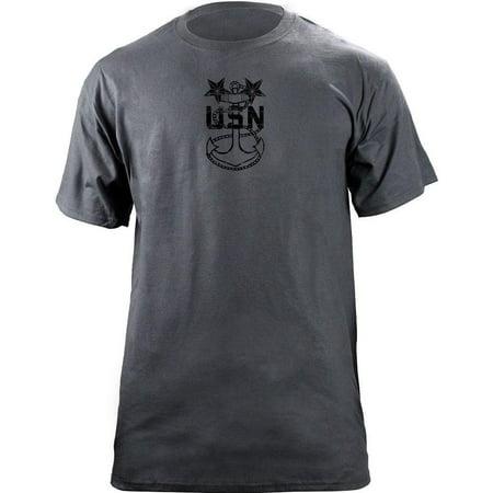 Vintage Navy Master Chief Petty Officer MCPO E-9 Rank Veteran T-Shirt - Master Chief Navy
