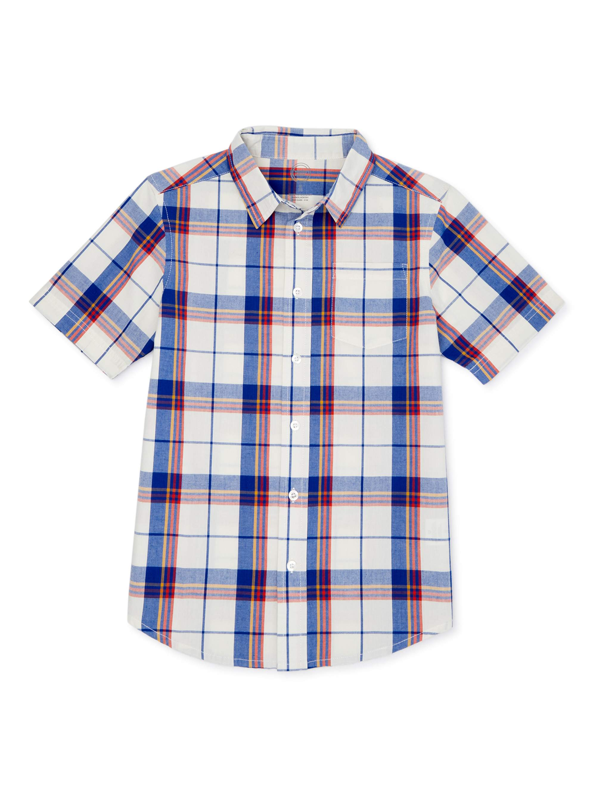 Jack Thomas Little Boys Prep Check Shirt Toddler