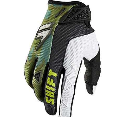 Racing Strike Army Men's Dirt Bike Motorcycle Gloves - Camo / Small, Color: Camo By Shift from USA