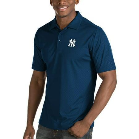 da59a3d23 Antigua - New York Yankees Antigua Inspire Desert Dry Polo - Navy -  Walmart.com