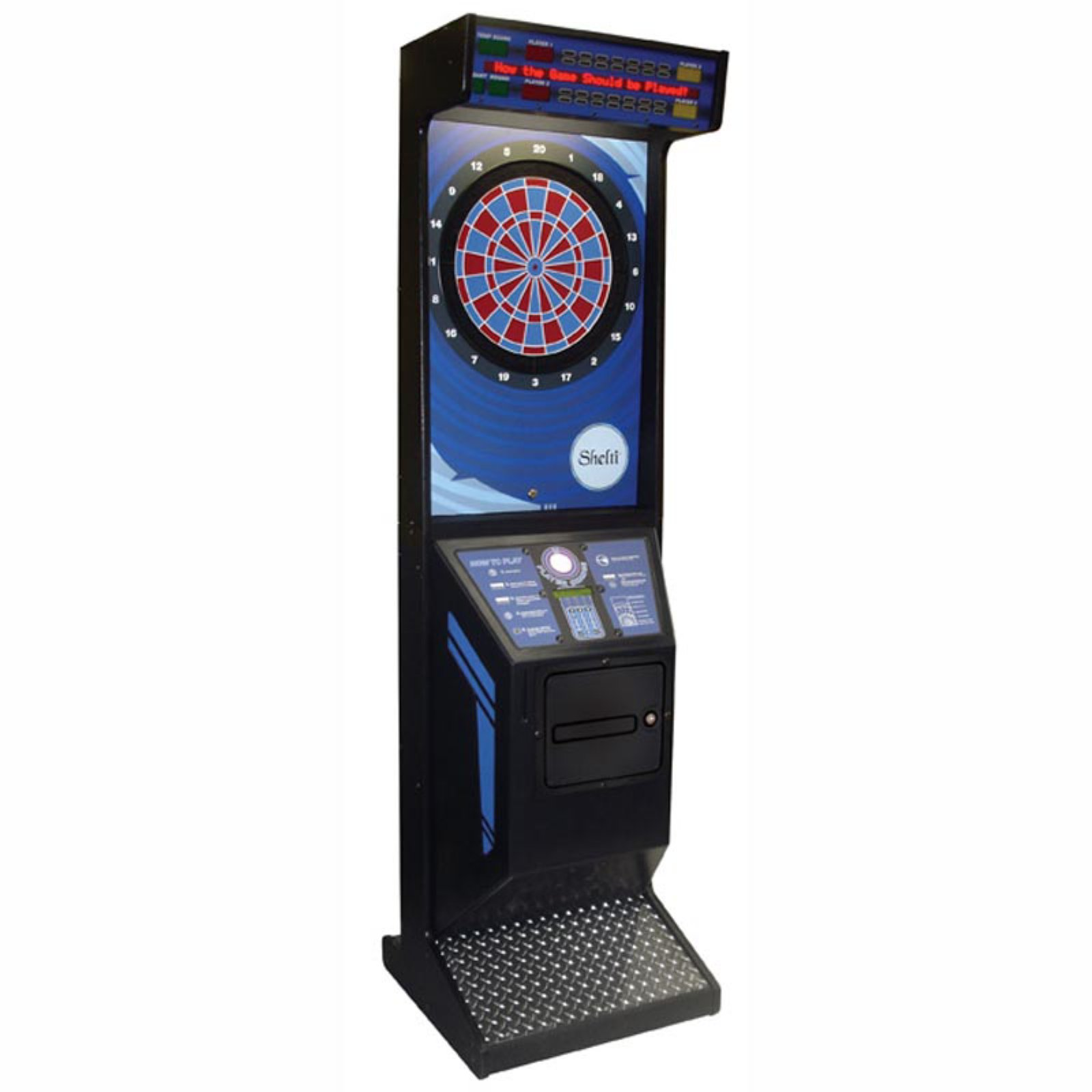 Fresh Arcade Style Cabinet with Cricket Pro 800 Electronic Game