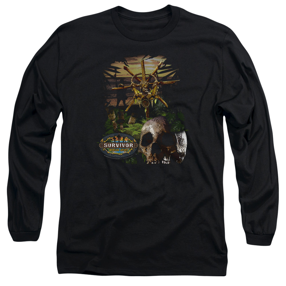 Survivor Jungle Mens Long Sleeve Shirt