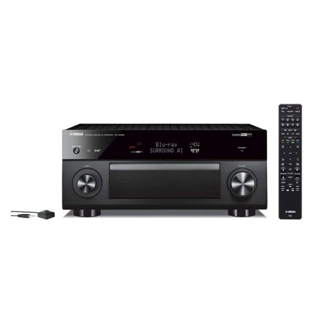 Yamaha Expandable Audio & Video Component Receiver Black (RX-V2085) (Yamaha Receiver Audio)
