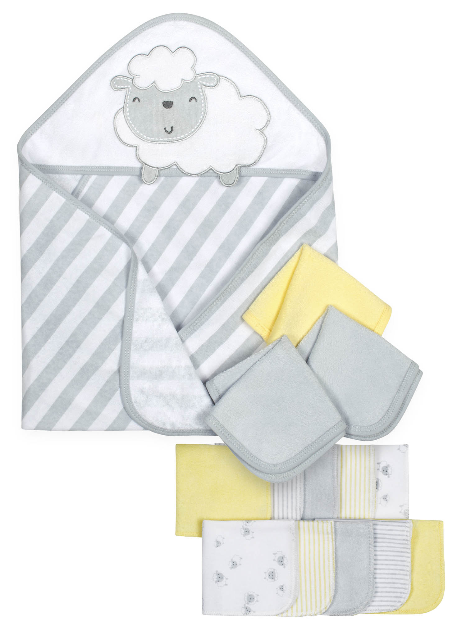 Gerber Baby Hooded Towels & Washcloth Set, 14pc by Gerber