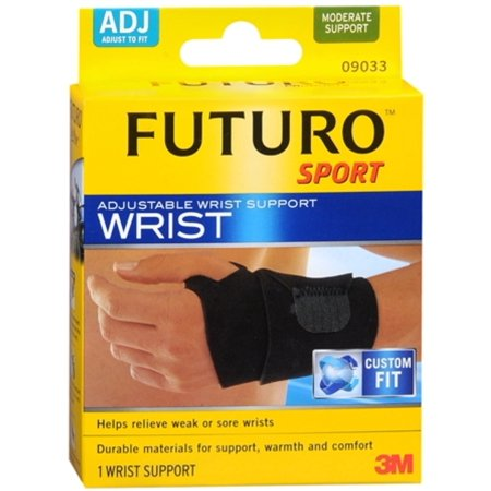 FUTURO Sport Wrist Support Adjustable 1ea (Pack of 2)