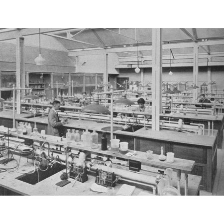 Student laboratory, Sterling Chemical Laboratory, Yale University, New Haven, Connecticut, 1926 Print Wall Art