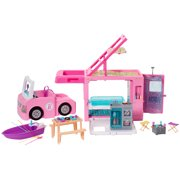 Barbie Estate 3-In-1 Dreamcamper Vehicle With Pool, Truck, Boat And 50 Accessories