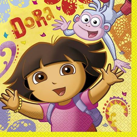 Dora the Explorer 'Dora & Boots' Lunch Napkins (16ct)
