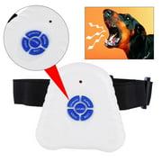 HURRISE Ultrasonic Anti Barking Control Collar Outdoor/Indoor Dog Pet No Barking Training Device Collar For Small Medium Large Sized Dogs