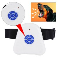 WALFRONT Bark Stop Control Outdoor Ultrasonic Dog Pet Anti Barking Training Device Collar for Small dog,Dog Pet Anti Barking Training Device Collar