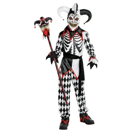 Sinister Jester Child Costume - Small](Child Jester Costume)