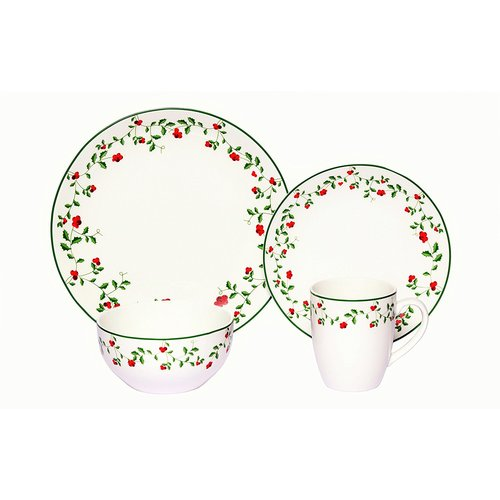 The Holiday Aisle Winterberry Dinnerware Set Service for 8 (Set of 8)  sc 1 st  Walmart & The Holiday Aisle Winterberry Dinnerware Set Service for 8 (Set of ...