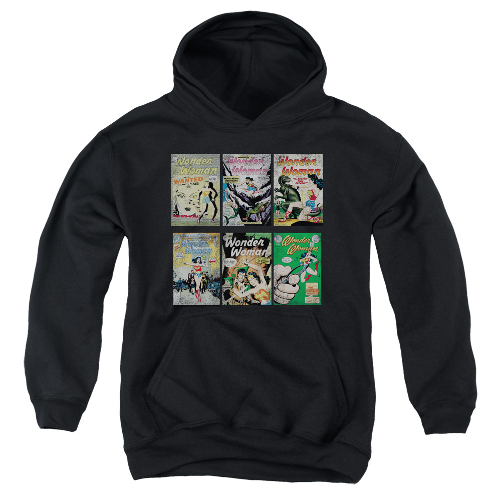 DC Comics Wonder Woman Covers Big Boys Pullover Hoodie