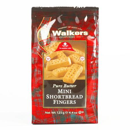 Walkers Mini Shortbread Fingers  4.4 oz each (1 Item Per Order, not per case)](Finger Cookies For Halloween)