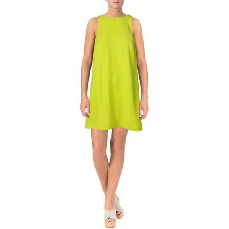Lauren Ralph Lauren Womens Crepe Pockets Casual Dress