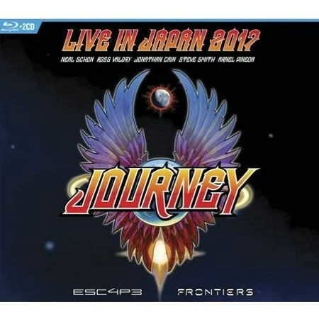 Escape & Frontiers Live In Japan (CD) (Includes Blu-ray) (Deep Purple Live In Japan 1972 Full Concert)