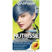 Garnier Nutrisse Ultra Color Nourishing Hair Color Creme, DN1 Light Cool Denim, 1 kit