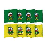 Oregon Ducks 2' x 4' Tokyodachi Regultaion Cornhole Board Tailgate Toss Set - No Size