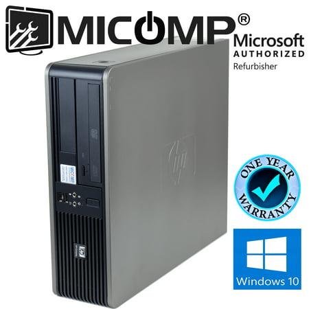 Refurbished HP (DC 7900) Windows 10 Home Desktop Computer PC 2.93Ghz 4GB 1TB DVD 1 Year Warranty