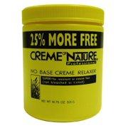Cream of Nature No Base Relaxer 18.75 oz. - Super Bonus 18.75 oz. (Pack of 2)