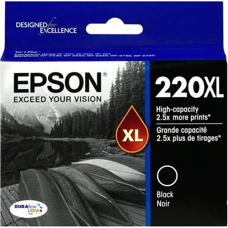 Epson 220XL High-capacity Black Ink Cartridge (Best Price For Epson Ink Cartridges)