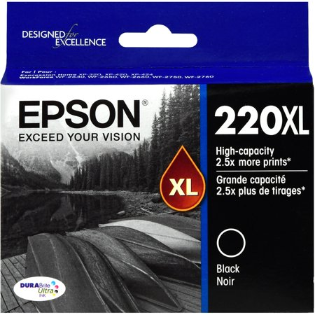 Epson 220XL High-capacity Black Ink Cartridge