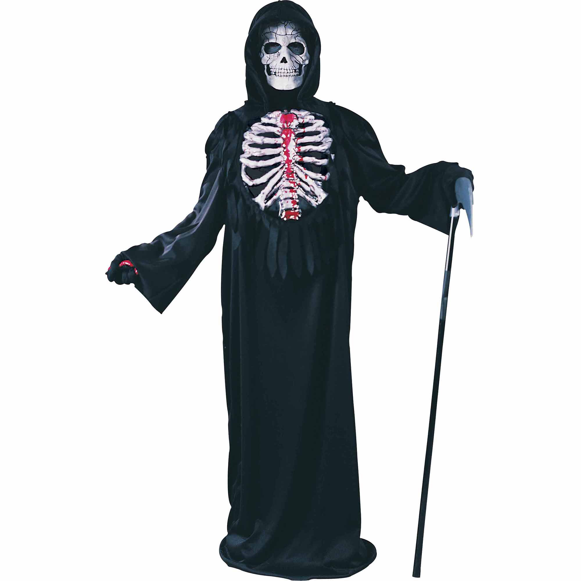 fun world bleeding skeleton child halloween costume walmartcom - Skeleton Halloween Costume For Kids