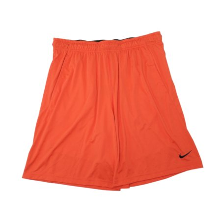 Nike, Inc. Dry Mens Size Large Dri-Fit Fly 2.0 Training Active Shorts, Red/Black (619) ()