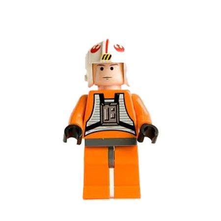 LEGO Minifigure - Star Wars - LUKE SKYWALKER PILOT
