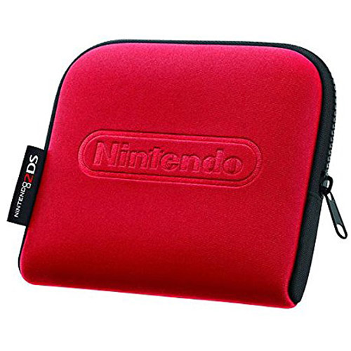 Carrying Case for Nintendo 2DS Console - Red