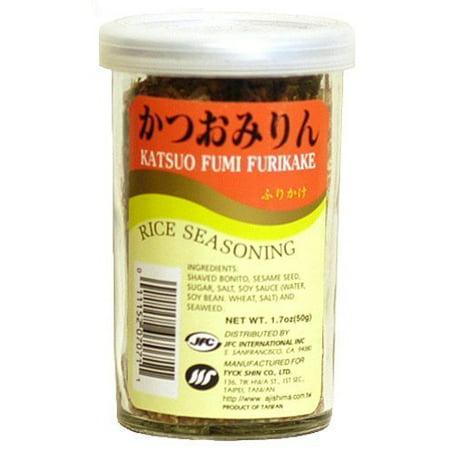 Rice Slices (Katsuo Fumi Furikake Rice Seasoning)