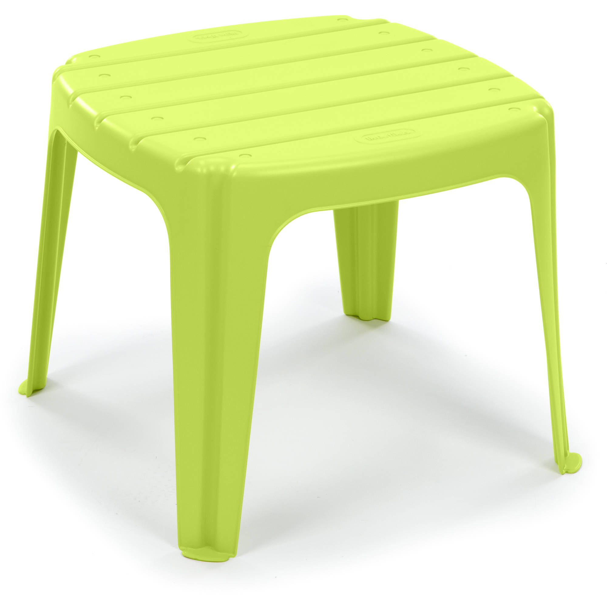 Details About Table For Kids Indoor Outdoor Garden Easy Clean Home Camping Learn Plastic Green
