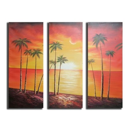 Coconut Grove Canvas Wall Art - A - H 48 x W 48 - image 1 of 1