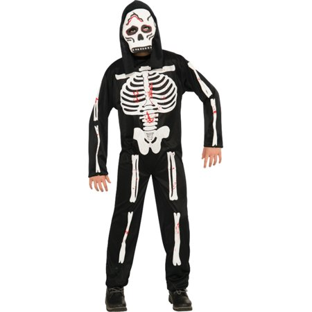 Morris costumes RU884784LG Skeleton Child Costume Large