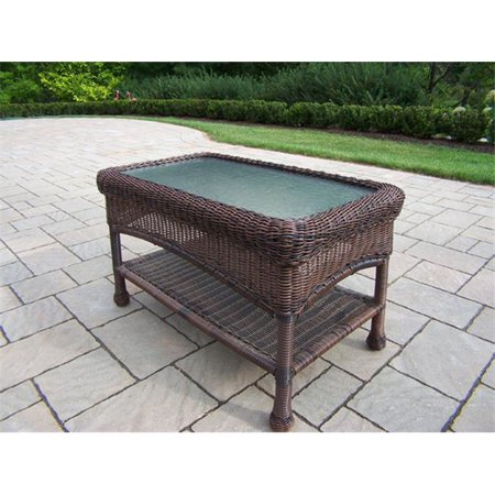 Oakland living corporation 90027 ct cf resin wicker coffee for Solidworks design table zoom
