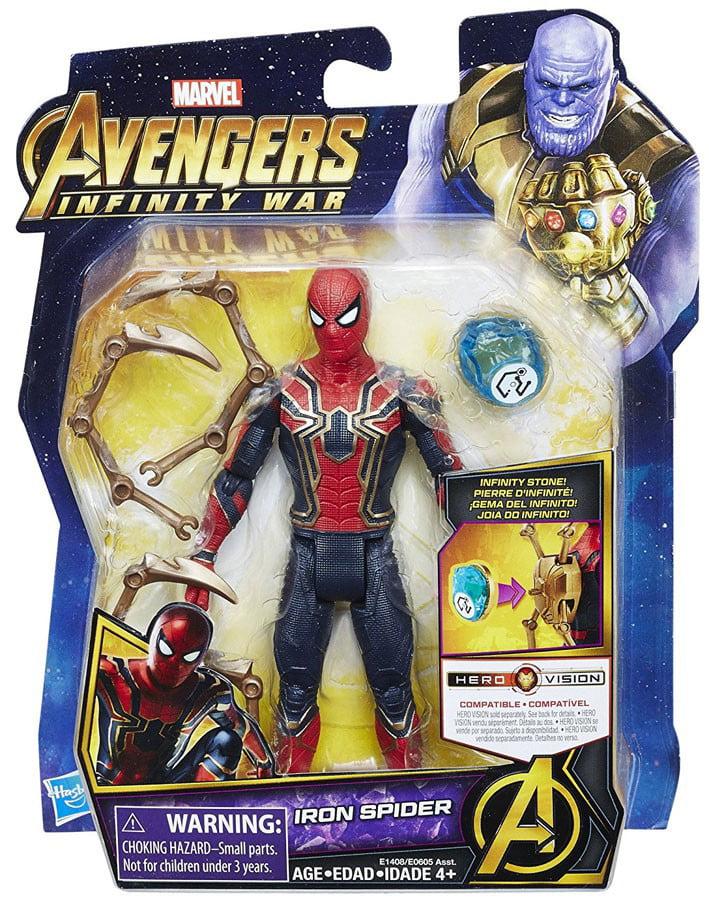 Marvel Avengers Infinity War Iron Spider With Infinity Stone Walmart Com