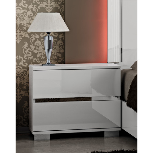 At Home USA Live 2 Drawer Nightstand
