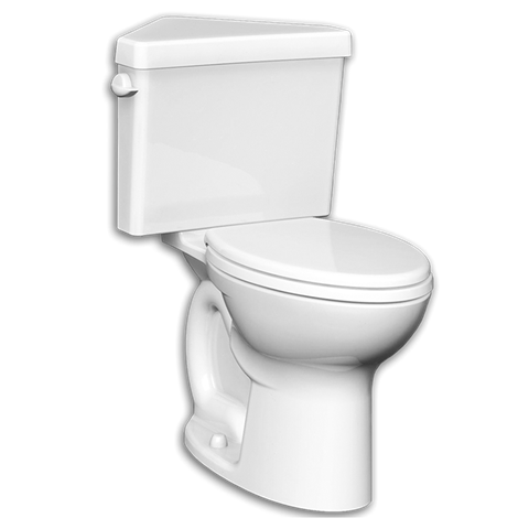 american standard cadet elongated two piece toilet 216ad.104.020 white