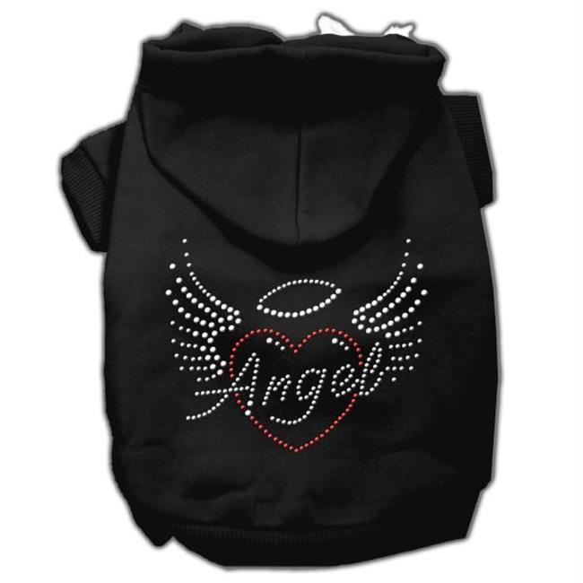 Angel Heart Rhinestone Hoodies Black Xxxl(20) - image 1 of 1