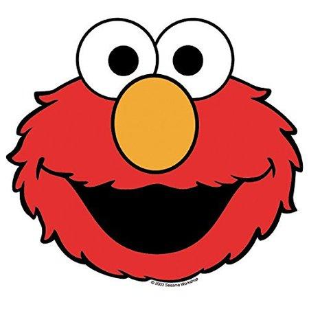 Sesame Street Elmo Face Edible Frosting  Image  8