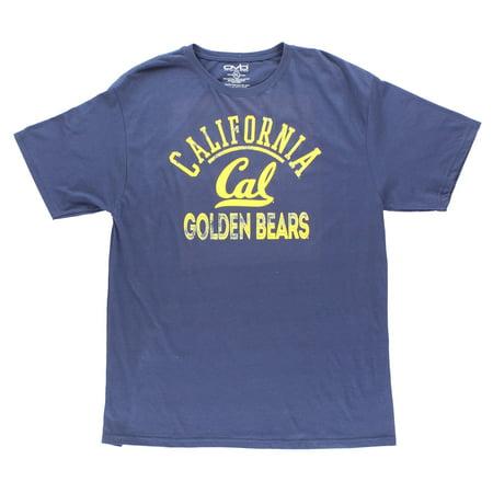 Old Varsity California Bears Shirt Blue (Varsity Tees)