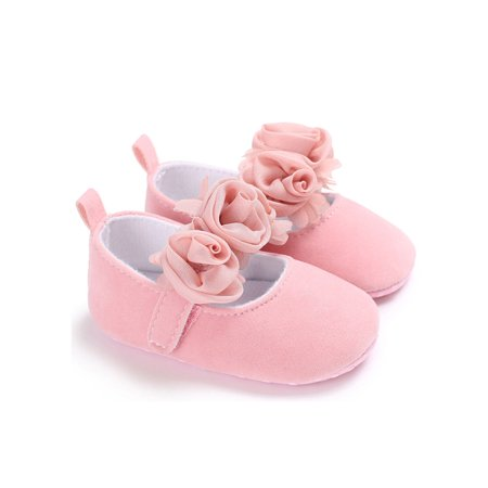 Toddler Party Shoes Baby Girl Wedding Dress Shoes Bowknot Infant Prewalkers Shirley Bridal Shoes