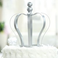 Efavormart Metal Princess Crown Cake Topper Birthday Cake Wedding Decoration For Wedding Birthday Party Special Event