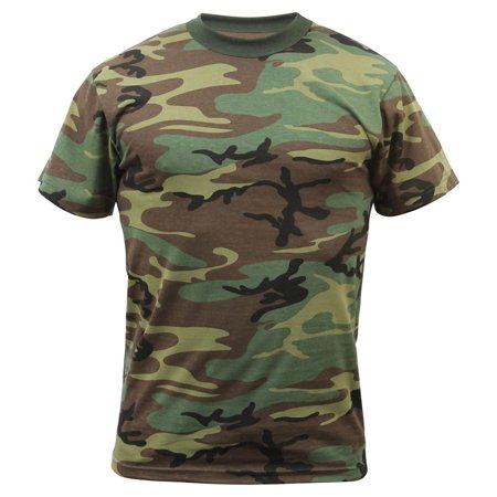 Boys Woodland Camo T-Shirt