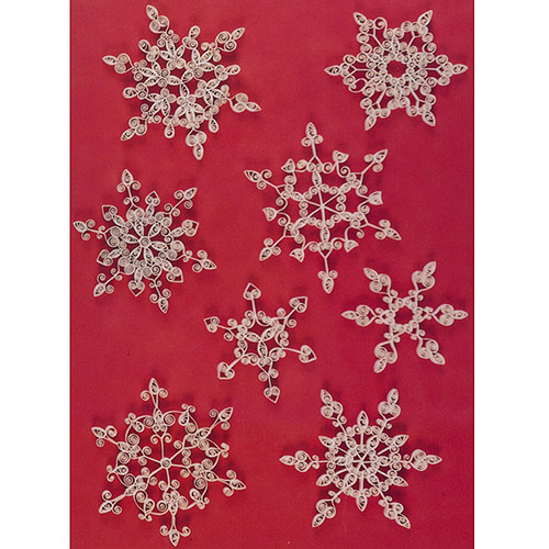 "Quilling Kit Snowflakes, .375"" Paper"