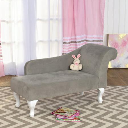 Homepop Diva Juvenile Chaise Lounge