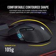 Corsair Ironclaw RGB, FPS/Moba Gaming Mouse, Black, Backlit RGB LED, 18000 DPI, Optical - CH-9307011-NA